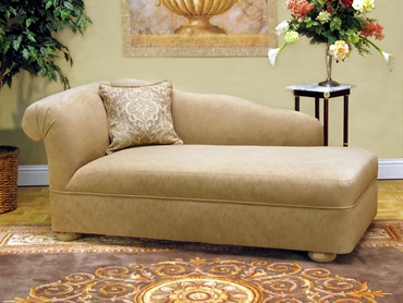 Picture of 1501 Bun Feet Chaise