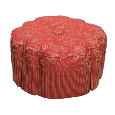 Picture of V15 Scallop Ottoman