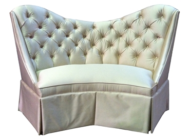 Picture of Regency Banquette with Diamond Tufting