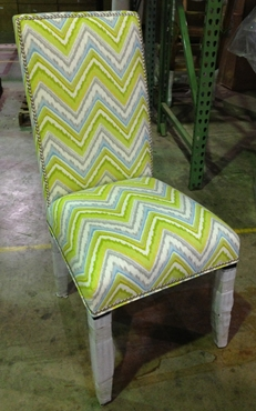 Picture of 91 Silver Nailheads Side chair